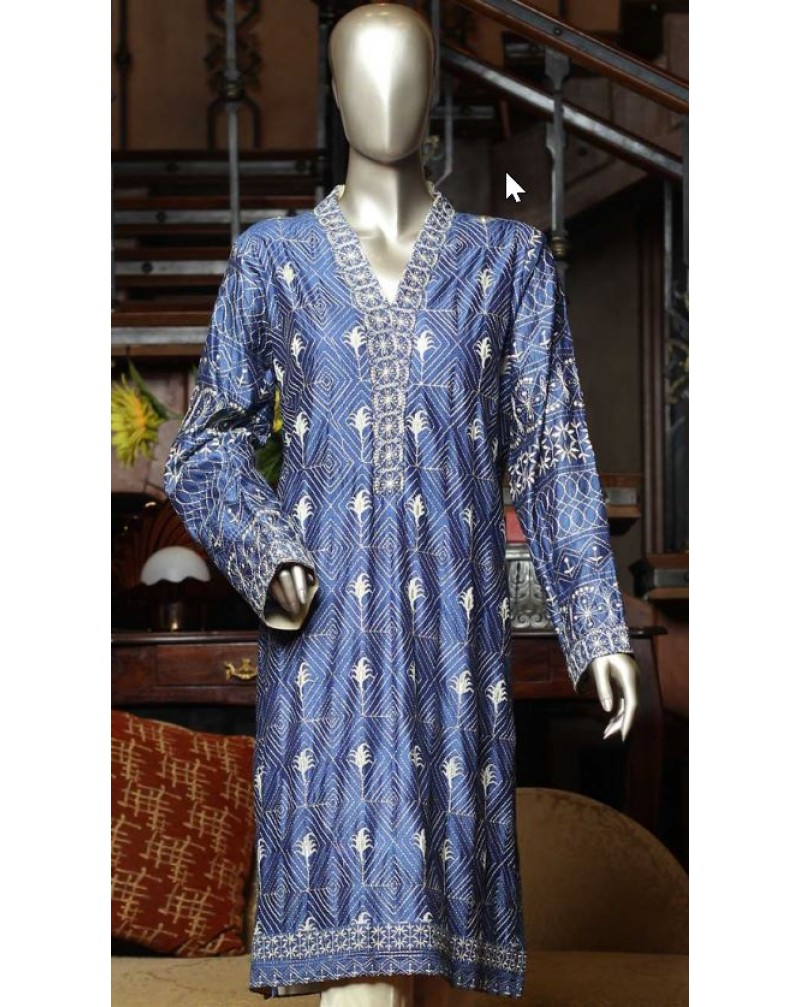 Embroidered Formal Kurti 4
